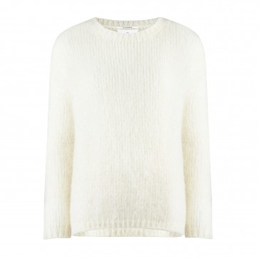 Knitted Sweater Crewneck Cream