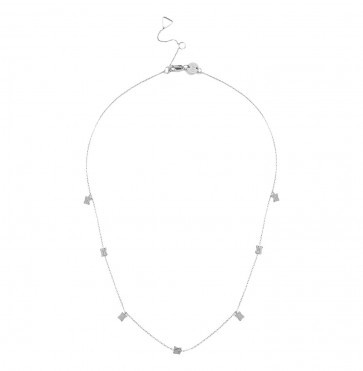 Necklace Avery Square Silver