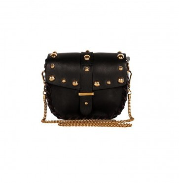 Shoulderbag Numero Deux Studs Black