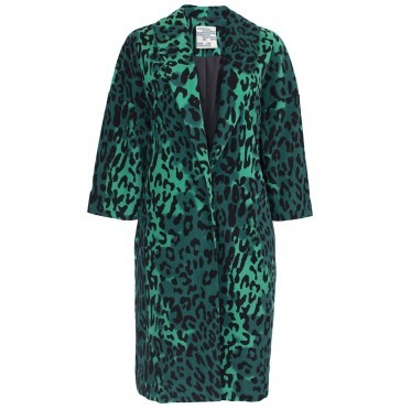 Coat Dara Green Megaleo