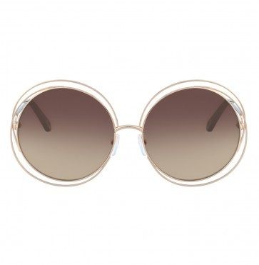 Sunglasses Carlina CE114SD Rose Gold Brown