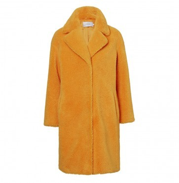 Cocoon Coat Camille Yellow