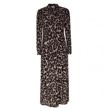 Dress Alham Wild Leopard