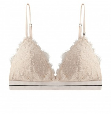 Padded Bralette Darling Lace Sand