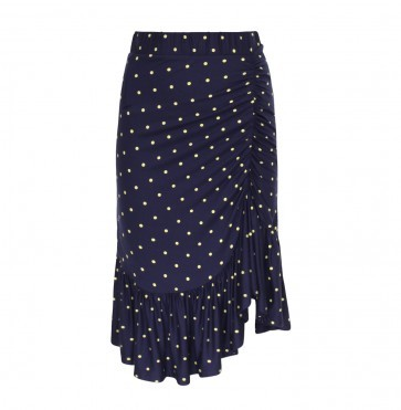 Skirt Julie Dotty Lemon Night