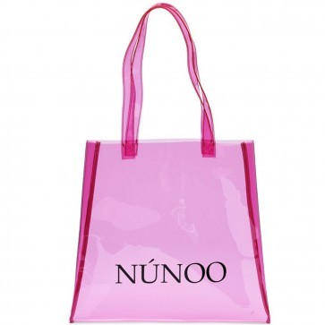 Small Tote Bag Transparent Pink