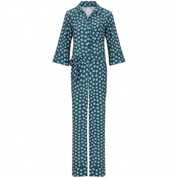 Jumpsuit Vanessa Somers Green Flower