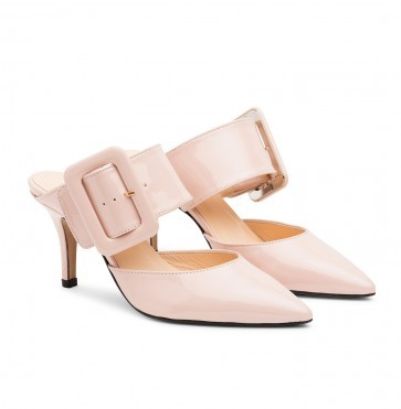 The Gloria Belt Pump Nude