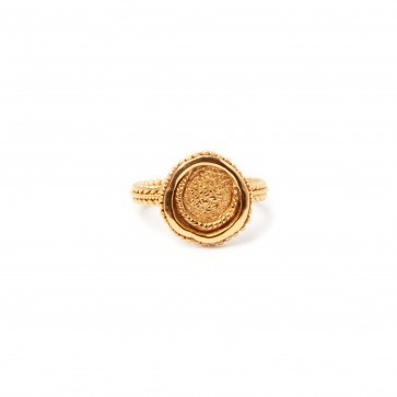 Ring Creissant Gold Plated