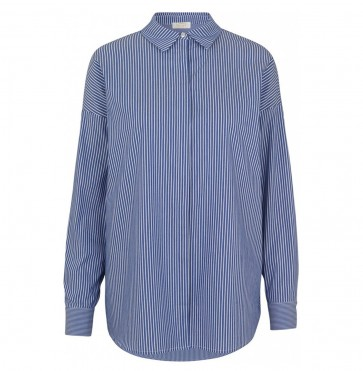 Shirt Kira Blue Stripe