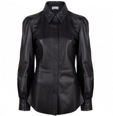 Leather Blouse Becky Raven