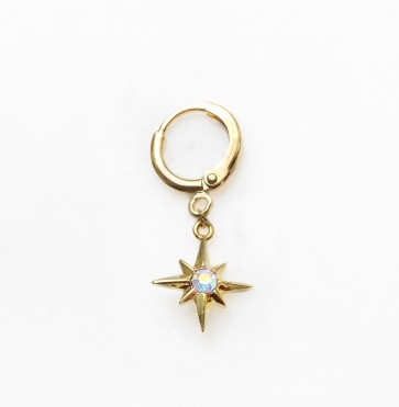 Earring Bright Northstar Gold