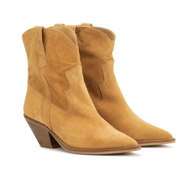 Sloane Boot Suede Mimosa