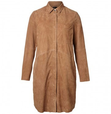 Suede shirt dress Victoria