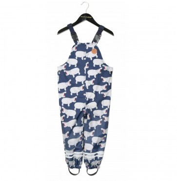 Overall Edelweiss Hippo Grey