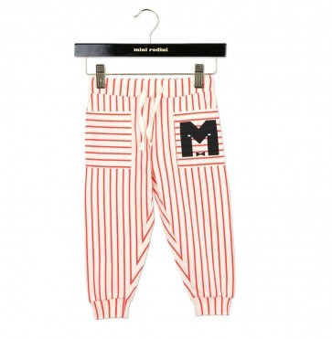 Trousers Stripe Red