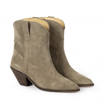 Sloane Boot Suede Taupe