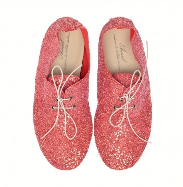 Anniel Red Glitter Low