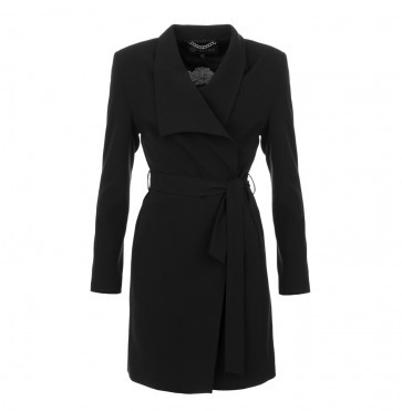 Coat Long Black