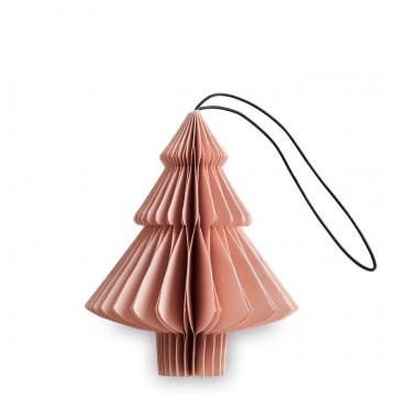 Dusty rose paper tree