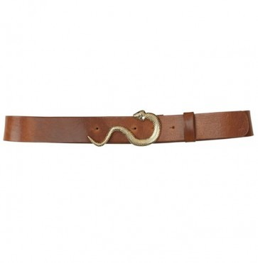 Belt Gwen Cognac Gold