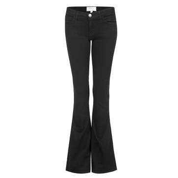 The Low Bell Jean Jet Black