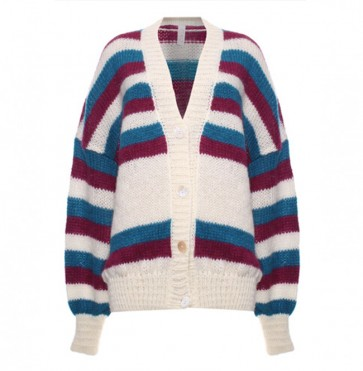 Cardigan Stripe Multicolor