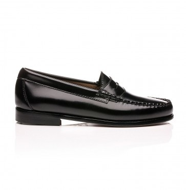 Weejuns Penny Loafers Black Leather