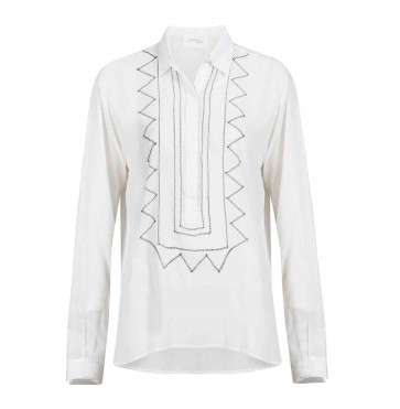 Blouse Embroidery White