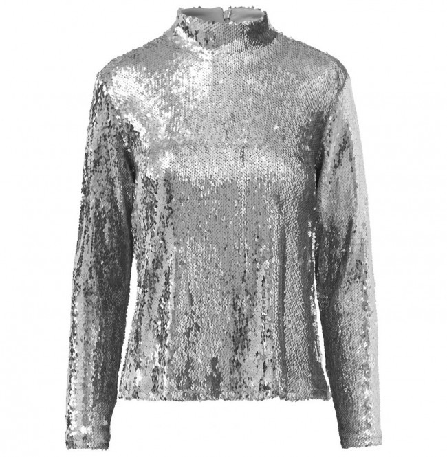 37528bc891244c Top Ice Sequin Silver - 60% - Outlet