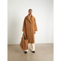 Teddy Coat Maria Nougat