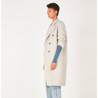Coat Dadoulove Greige