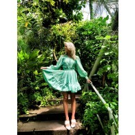 Dress Farrow Jade