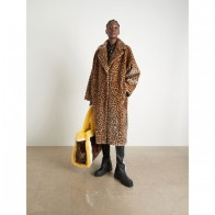 Teddy Coat Maria Animal Print