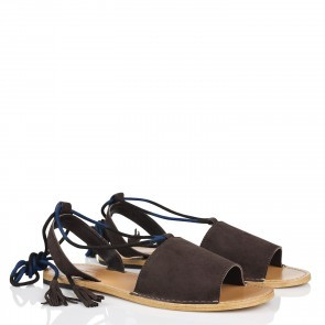Sandal Veracruz Goat Leather Brown