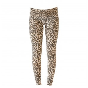 Leggings Leopard Faded Camel