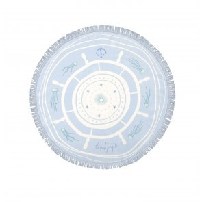 Petite Round Towel The Captain