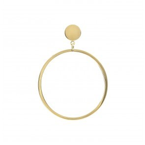 Earring Ares Gold Plated Silver