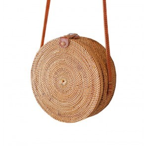Rotan Bag Round - PRE-ORDER delivery from 4 JULY
