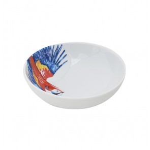 Cereal Bowl 18cm Parrot Head
