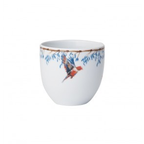 Coffee Cup 200ml Bamboo & Singing Birds