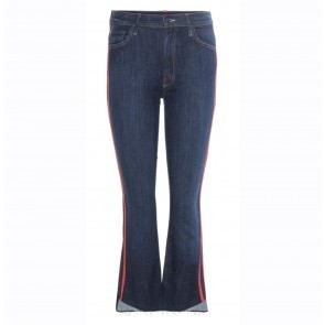 Jeans Insider Crop Speed Racer Red Stripe