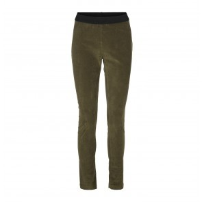 Legging Adrianne Velour Olive Night