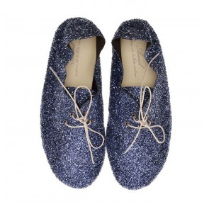 Anniel Night Blue Glitter Low