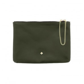 Clutch Bag La Grande Zizi Dark Green