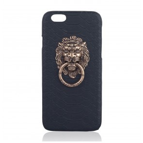 Iphone Cover Lion Black