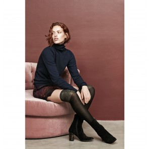 Thigh High Sock Disa Black