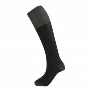 Long Sock Dimitra Black