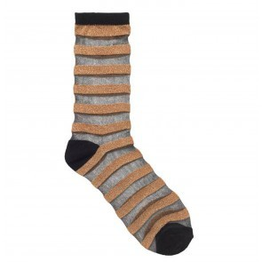 Socks Dagmar Stripe Gold