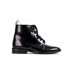 Boot Valery Black Patent Leather